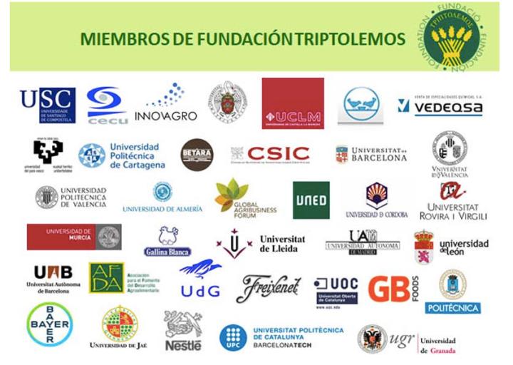 Imagen de la web de la Fundación Triptolemos